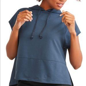 Avia sleeveless top with hood